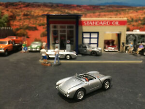 1:64 Hot Wheels Limited Edition Porsche 550 Spyder Silver James Dean