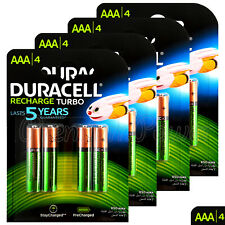 16 x Duracell Rechargeable AAA batteries 850mAh NiMH LR03 HR03 ACCU DX2400 phone