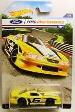 FORD MUSTANG COBRA RACE CAR FORD PERFORMANCE 6/8 HOT WHEELS DIECAST 2016