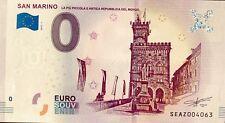 BILLET 0 ZERO EURO SOUVENIR TOURISTIQUE SAN MARINO LA PIU PICCOLA ...2019-1