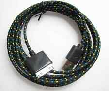 Long 3m Duty USB Cable Lead for iPhone 4S 4 Data Charger Extension Lead Wire