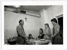 Photo Jean Philippe Charbonnier - Dolomites 1959 - Bénédicité à Monzon -