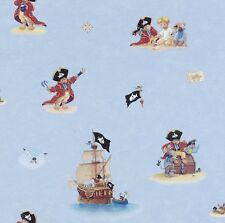 Captain Sharky Pirate Wallpaper for Kids 289602