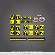0313 Alan Bicycle Stickers - Decals - Transfers
