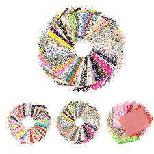 50/60/100 piezas de tela algodón Impreso Boundle Patchwork Cuadrados 10*10cm