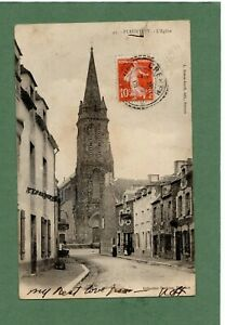 Pleurtuit, Church, St. Malo, France, c.1913 Postcard