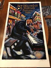 Michalopoulos Jazz Fest 2006 Fats Domino Signed/numbered