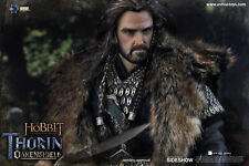 LOTR / THE HOBBIT~THORIN OAKENSHIELD~SIXTH SCALE FIGURE~ASMUS TOYS~SIDESHOW~MIB