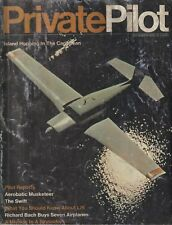 Private Pilot (Sep 1970) Caribbean Flying, Acro Musketeer, Richard Bach Swift