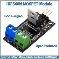 IRF540N Power MOSFET Transistor Switch Module DC 24V 50W  RobotDyn