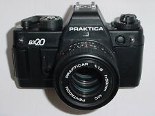 PRAKTICA BX20 35mm Film SLR Camera with PENTACON 50mm F/1.8 MC Lens *** mint-