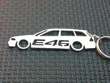 BMW E46 TOURING Schlüsselanhänger 3 3ER KOMBI M PAKET LED DIESEL M3 320 anhänger
