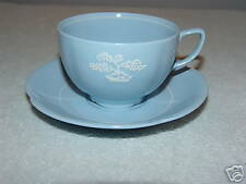 Johnson Brothers Blue w/ White Tree Cup & Saucer