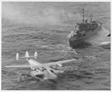 Photo 1945 USS San Pablo rescuing Honolulu Clipper