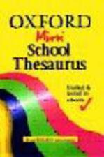 Oxford Mini School Thesaurus by Alan Spooner (Paperback, 2002)