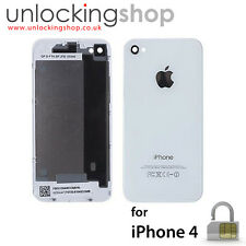 for Apple iPhone 4 - NEW Replacement Battery Cover/Back Glass (WHITE) x 10