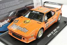 FLY 051104 BMW M1 JAGERMEISTER DRM 1981 NEW 1/32 SLOT CAR IN DISPLAY CASE
