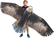 Jekosen Bald Eagle Huge Kite 70'' for Kids and Adults Single Line String Easy to