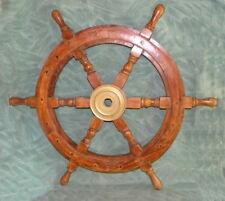 Barre à Roue bois diamètre roue 45 cm  Axe 24mm