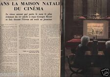 Coupure de presse Clipping 1954 Les Frères Lumière  (10 pages)