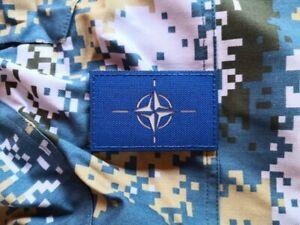 NATO North Atlantic Treaty Organization milsim Morale Alliance High VIS Patch