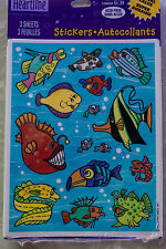NIP Unused Vintage Hallmark Sea Ocean Star Fish Cartoon Fun 90s 3 sheets