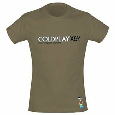 COLDPLAY - Light Will Guide You Home - Girlie Girl Damen Shirt - Größe Size S