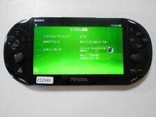 Z12348 Sony PS Vita PCH-2000 console Black Japan x Express