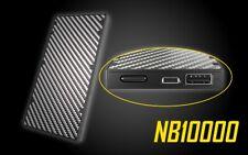 NITECOR NB10000 Quick-Charge USB/USB-C Dual Port 10000mAh Lightweight Power Bank