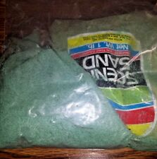 HO/N Scale 2 Shades of Green Scenic Sand, Over 1.5 lbs