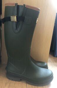 Barbour Men's Tempest Wellington Boots - Green - Size 10