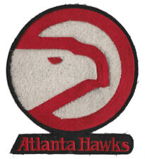 "1972-94 ATLANTA HAWKS NBA BASKETBALL HARDWOOD CLASSICS 6"" CHENILLE TEAM PATCH"