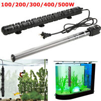 100-500W Aquarium Heater Quartz Glass Submersible Anti-Explosion Fish Tank Water