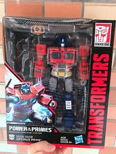 Transformers Power of the Leader Leader War Optimus Prime Leader Level L Boxed