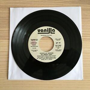 """Ornella Vanoni_Vorrei Darti / Una Domenica_Vinile 45giri 7"""" JukeBox_1978 Vanilla"""