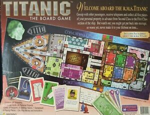 Vintage 1998 Titanic Board Game Replacement Pieces
