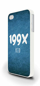 199X Kid Blue Hipster Cover Case for iPhone 4/4s 5/5s 5c 6 6 Plus