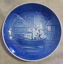"B&G Bing & Grondahl Denmark Christmas Plate 1976 ""Christmas Welcome"" #9076"