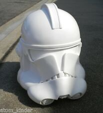 "Star Wars 1:1 Scale Phase 2 CLONE TROOPER Helmet Resin ""B"" Cast The Last Jedi"