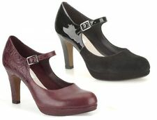 Women's Suede Block High Heel (3-4.5 in.) Court Shoes