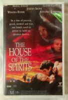 The House of the Spirits VHS 1993 Bille August Jeremy Irons Roadshow Large
