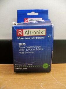 NEW ALTRONIX SMP5 Power Supply 6/12/24VDC @ 4A