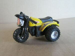 1811ft Toy Plastic Hong Kong Quad 3 Wheels Yellow L 3 1/8in