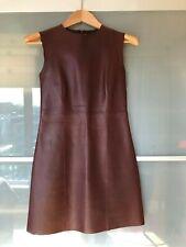 Céline - Phoebe Philo Era - Leather Dress - Size 38 France