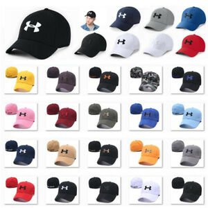 Fashion Embroidered UA Under Armour Logo Baseball Cap Sports Golf Hats Unisex