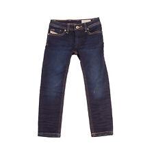 DIESEL Jeans Size 4Y Stretch Faded Crumpled Slim Skinny Fit SLEENKER-J-N KXA55