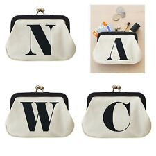 Alphabet Bags - Coin Purse / Case / Pouch / Wallet , Initial , Name
