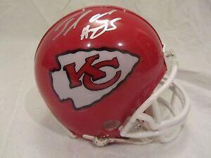 Jamaal Charles Signed Kansas City Chiefs Mini Helmet - JSA Cert