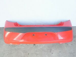Stoßstange Hinten mit Träger Hyundai i10 PA Rot Farb-Code H4 (150)