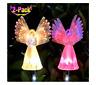 Solar Angel Lights by Eternal Light Memorial Light for Grave or Garden FREE Ship